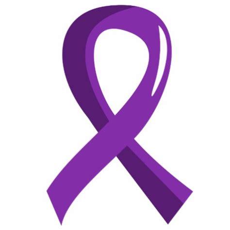 pancreatic cancer ribbon color pancreatic cancer purple ribbon 3 acrylic cut outs zazzle