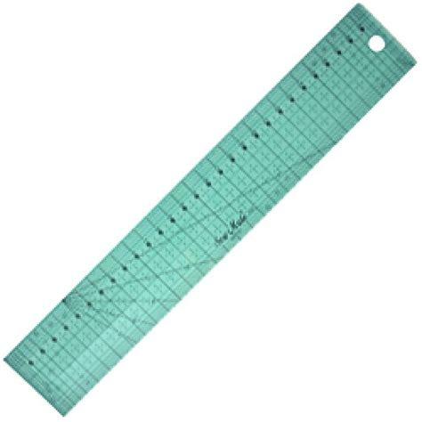 Patchwork Rulers - patchwork ruler yellow metric 5x30cm m0530 yw habby hyper