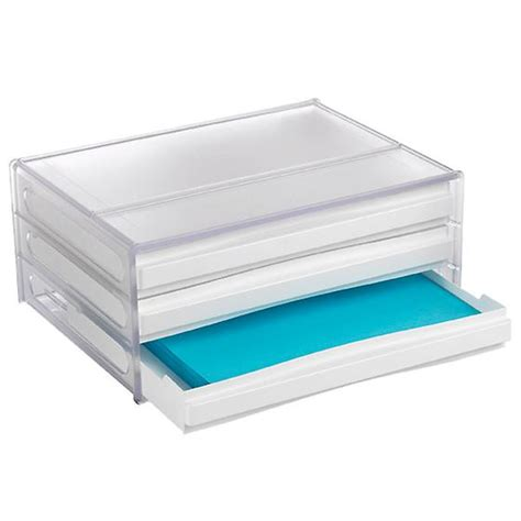 Container Store Drawer by Stackable Desktop Drawers The Container Store