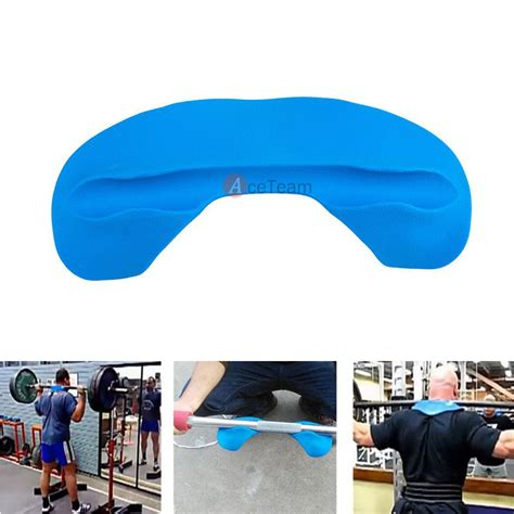 Squat Rack Neck Pad by Barbell Weightlifting Squat Bar Pads Comfort Neck