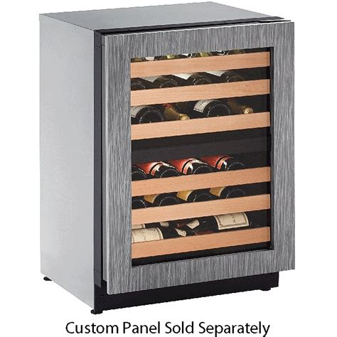 panel ready wine cooler u line 24 quot panel ready wine captain u 2224zwcint 00b
