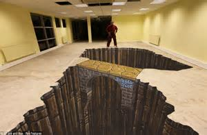 Joe and the giant beanstalk: Artist creates breathtaking