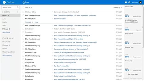 mobile hotmail site microsoft replaces hotmail with outlook gets a
