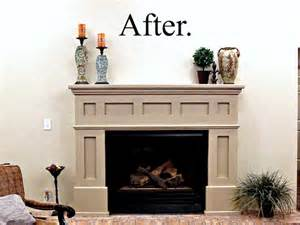 refinished fireplace tutorial my altered state