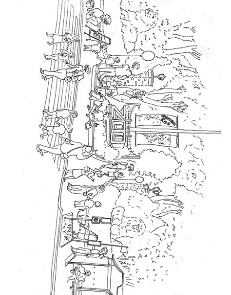 free coloring pages of washington dc