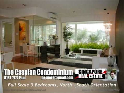 the caspian condominium 3 bedroom singapore condo for