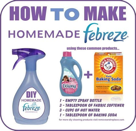 Air Freshener With Fabric Softener 25 Best Ideas About Febreze On Downy