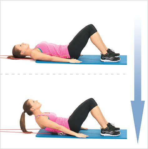 resisted abs crunch  exercise resistance bands
