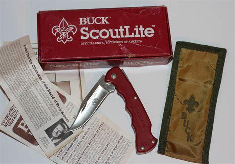 buck boy scout knife buck knives 412 scoutlite boy scouts folding knife
