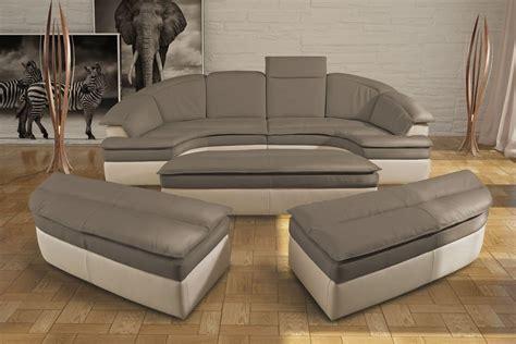 divanetti design divano componibile in vera pelle bicolor idfdesign