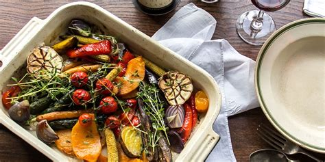 vegetables roasted roasted vegetable recipe with blue cheese sauce great