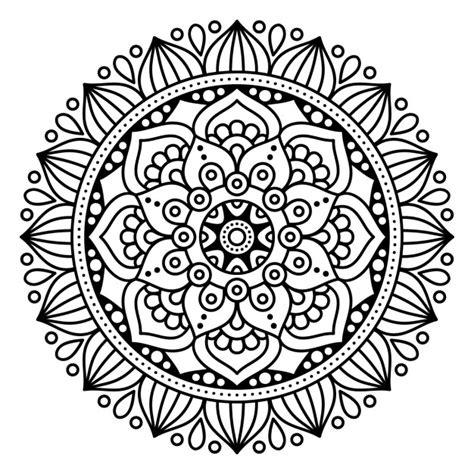 mandala coloring pages vector mandala vac 237 o descargar vectores gratis