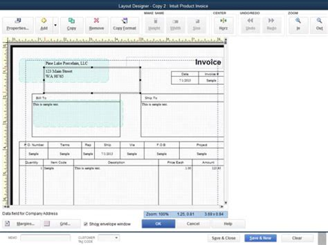layout design in quickbooks customize quickbooks 2014 invoices with the layout