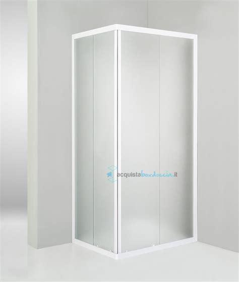 piatto doccia 60 x 100 box doccia angolare porta scorrevole 60x100 cm opaco bianco