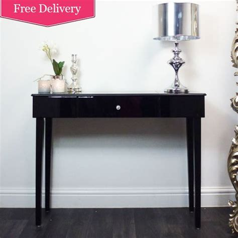 black console table with storage contemporary designed console table with single storage