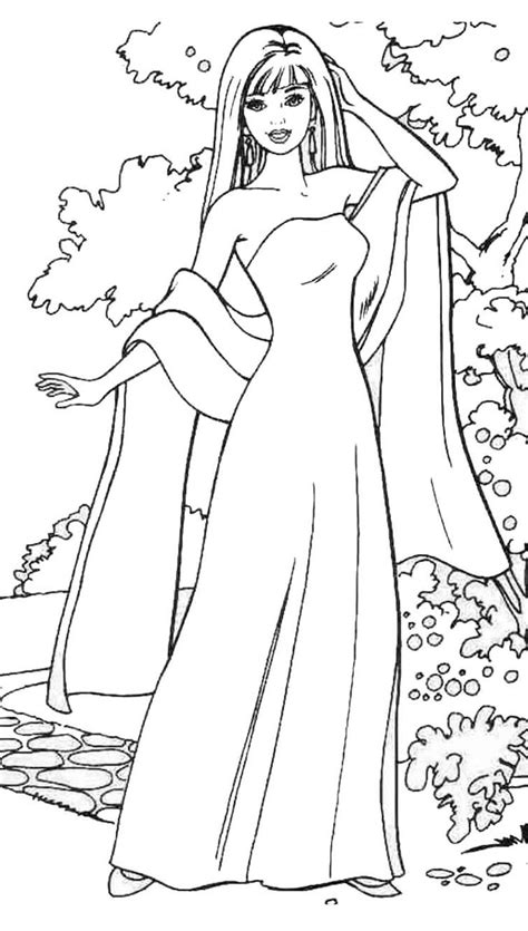 barbie makeup coloring pages barbie the beauty free coloring page kids coloring pages