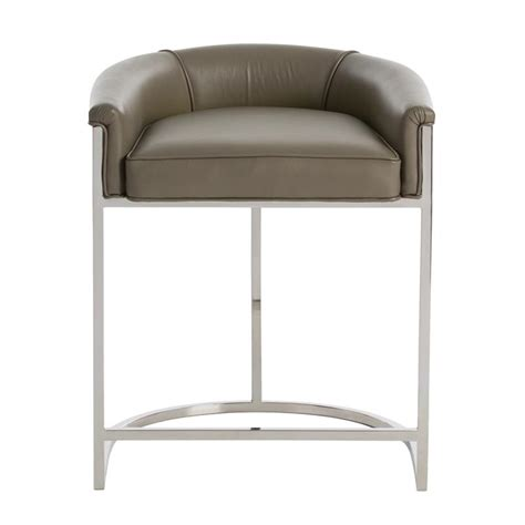 Gray Counter Stool by Arteriors Calvin Counter Stool Gray