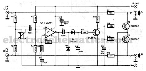car audio noise filter circuit diagram circuit and