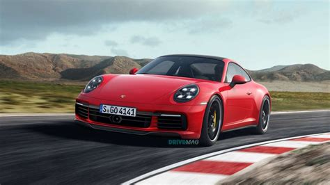 House Layout by 2019 Porsche 911 992 Rendered In Evolutionary Fashion