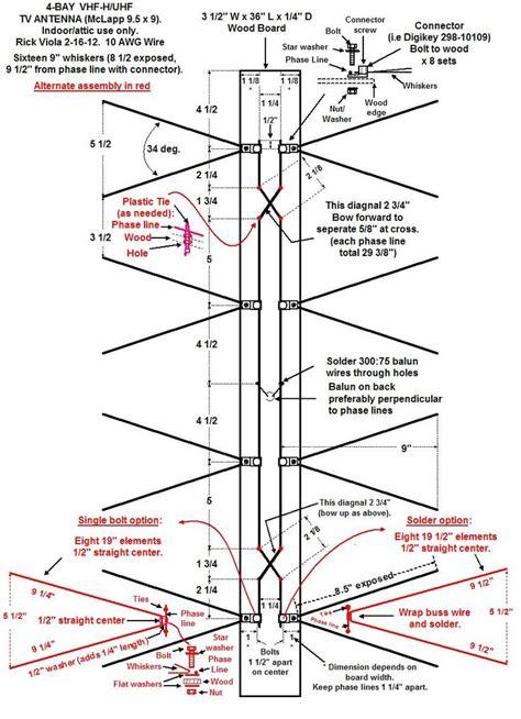 diy outdoor tv plans outdoor hdtv antenna wiring diagram 35 wiring diagram