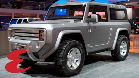 2020 Ford Bronco Official Pictures by The Ford Bronco Will Be Back In 2020