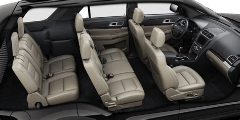 Leather Trimmed Upholstery by Leather Seating Options In The Ford Explorer