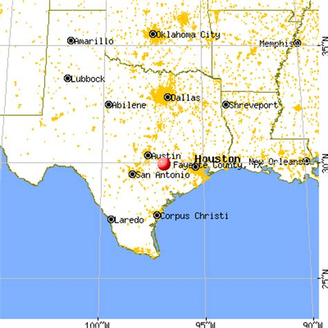 fayette county texas map fayette county texas detailed profile houses real estate cost of living wages work