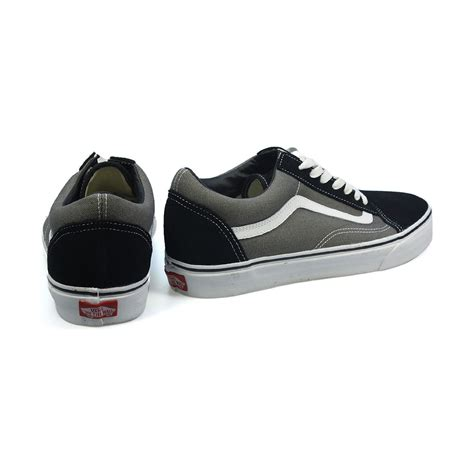 cheap vans shoes cheap vans skool canvas suede low top shoes black