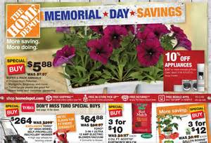 home depot sales ad home depot memorial day savings starts today deals i