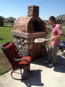 Build Wood Fired Pizza Oven Your Backyard The Moon Family Diy Wood Fired Pizza Oven In Oklahoma By