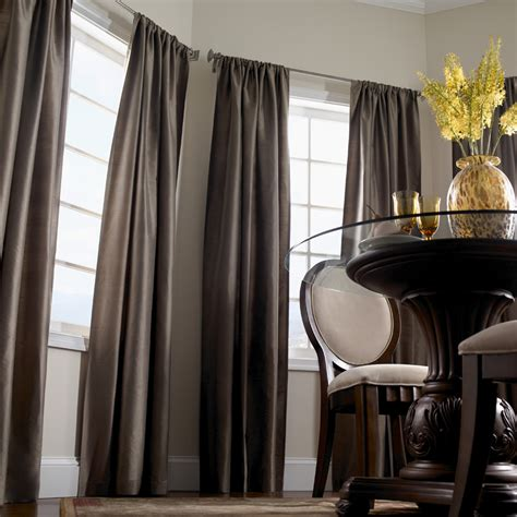 room curtains traditional dining room curtains decosee