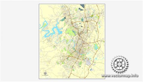 texas vector map texas us vector map v 2 adobe illustrator editable city plan