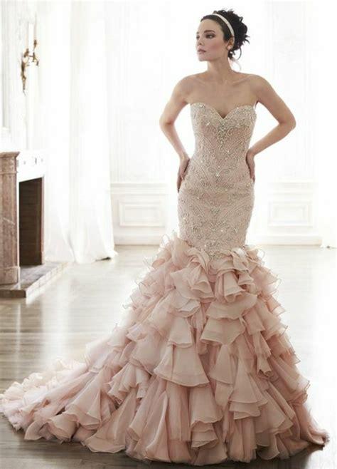 Brautkleider Rosé by Rosa Brautkleid F 252 R Einen 246 Sen Hochzeits Look