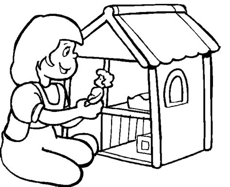 coloring pages of a doll house free coloring pages of doll house