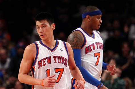 lin s jeremy lin s gone and you can blame carmelo anthony the