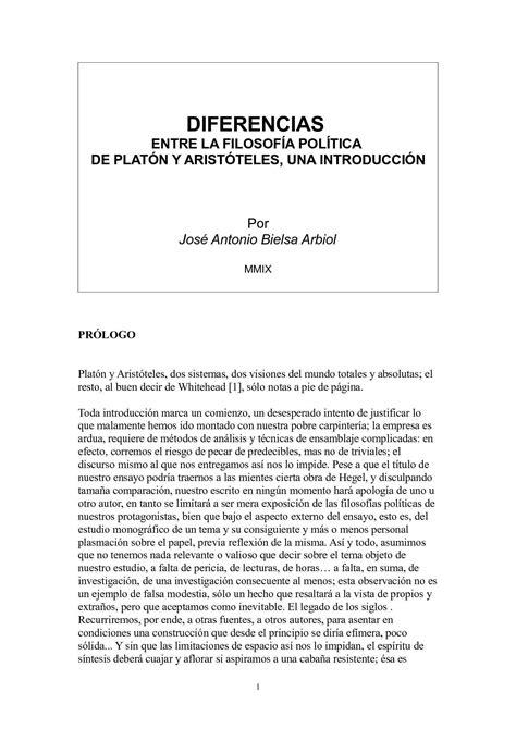 Calaméo - DIFERENCIAS ENTRE LA FILOSOFÍA POLÍTICA DE