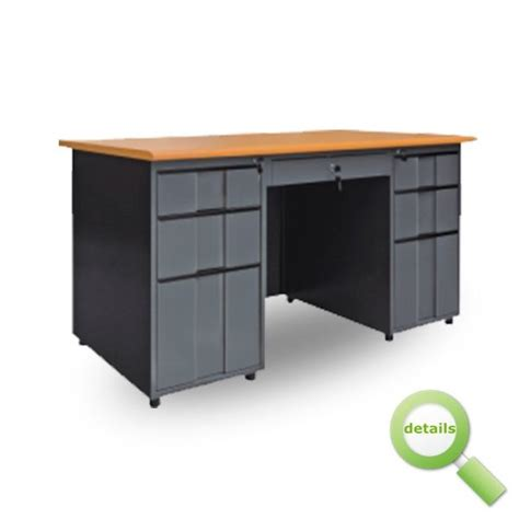 Table L Bangladesh by Otobi Furniture Steel Almirah Large Office Table In