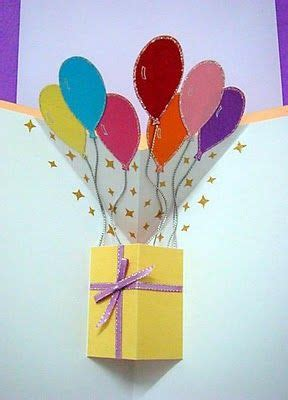 balloon pop up card template best 25 pop up cards ideas on diy popup cards