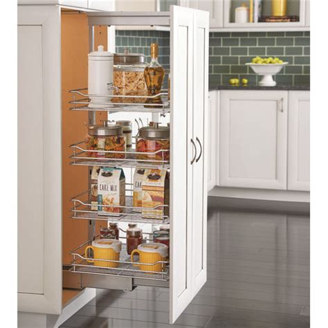 rev a shelf soft chrome pullout pantry with