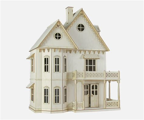 victorian wooden dolls house gingerbread victorian dollhouse kit journey s house of