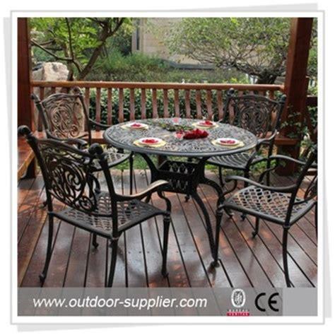 used cast aluminum patio furniture used tables and chairs patio aluminum furniture buy