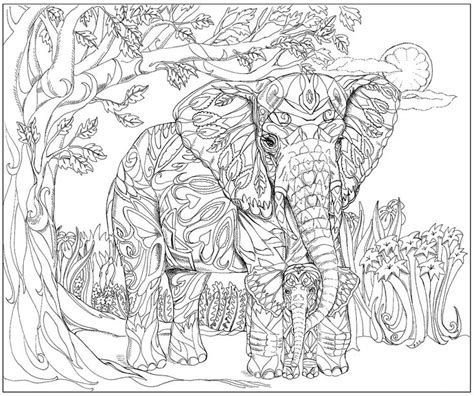 adult coloring pages animali images  pinterest