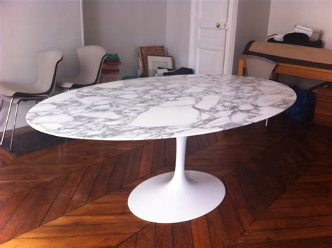 table edition table tulip ovale saarinen 233 dition knoll l atelier 50