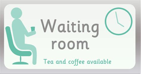 sings in hospital waiting room waiting room play sign free early years primary teaching resources eyfs ks1
