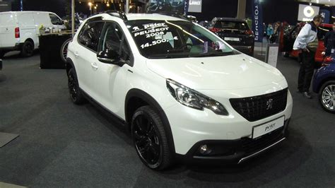 white peugeot 2008 peugeot 2008 gt line white colour walkaround and