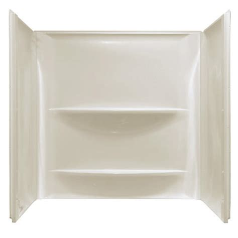 lyons bathtub lyons contour 30 quot x 60 quot x 59 quot smooth bathtub walls at menards 174