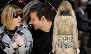 Bradley Cooper Watches Suki bradley cooper watches suki waterhouse walk in burberry