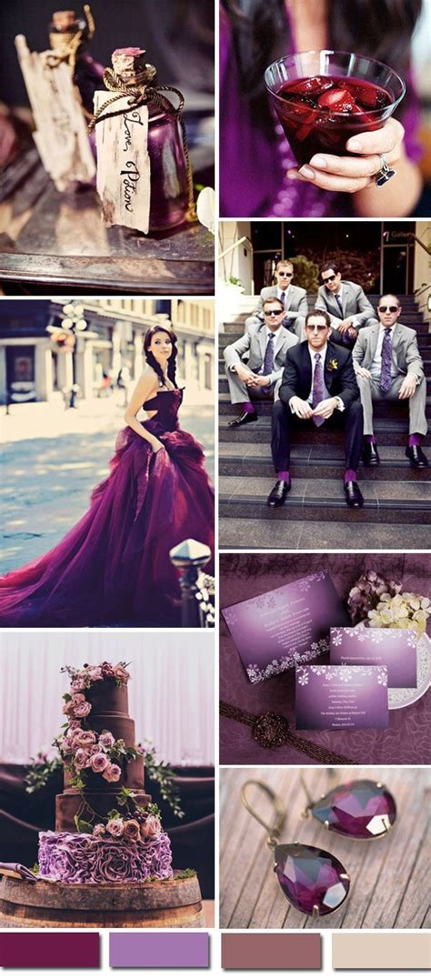 25  best ideas about Deep purple wedding on Pinterest