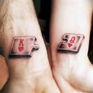 48 king queen tattoos wrist