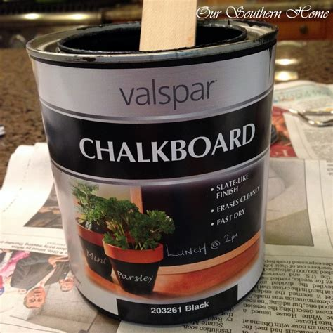chalkboard paint mitre 10 goodwill mirror to chalkboard tutorial our southern home